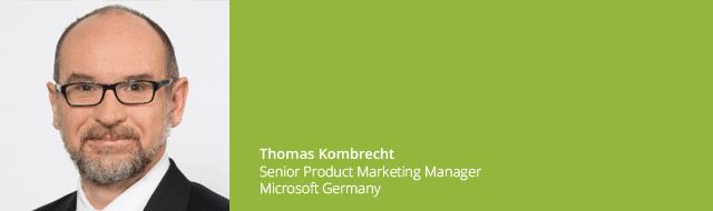 Thomas Kombrecht Microsoft