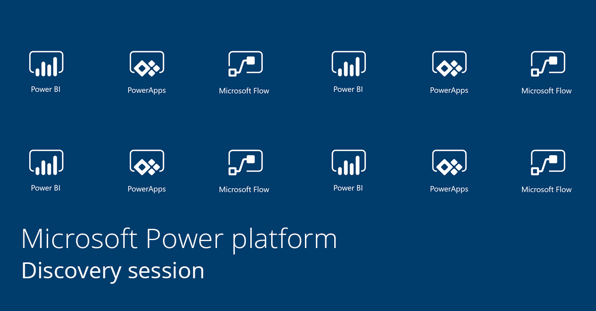 discovery session microsoft power platform