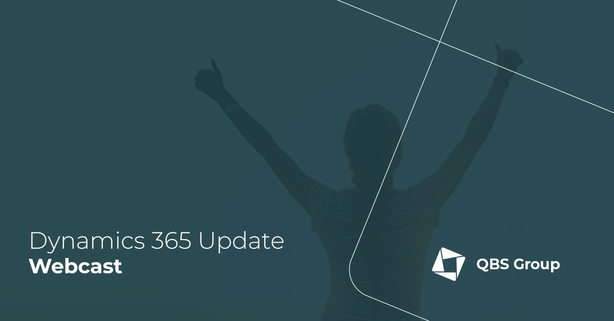 Dynamics 365 Update Webcast