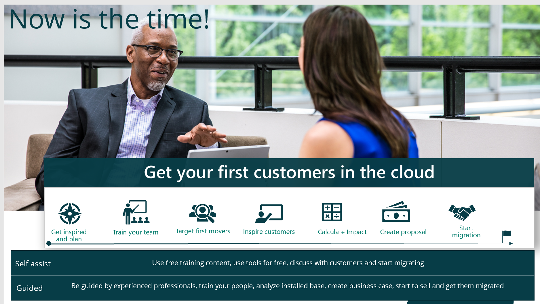 Get Your First Customers In The Cloud