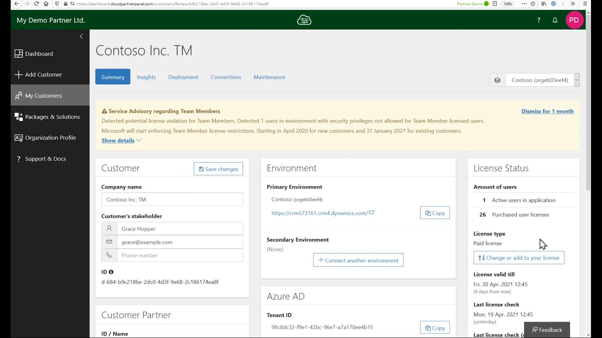 Cloud Partner Panel – Partner management software voor Microsoft Dynamics 365 en Power Apps Implementeer